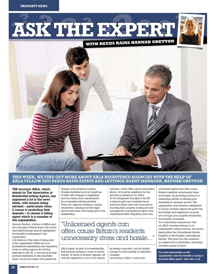 City Living Manchester's Hannah Gretton Shares Advice on Choosing an ARLA Agent