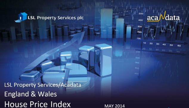 House prices climb