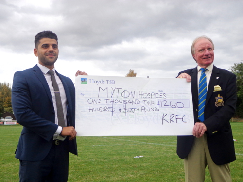 Reeds Rains Kenilworth support local club and charity