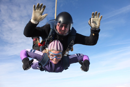 Head Office Charity Sky Dive