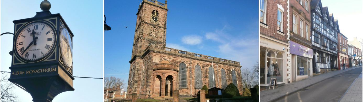 Local Area Guide from Reeds Rains Whitchurch, Shropshire